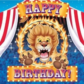 Napkins-LN-Big Top Circus Birthday-16pkg-3ply - Discontinued