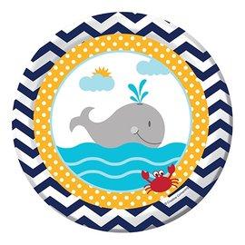 Plates-BEV-Ahoy Matey-8pkg-Paper - Discontinued