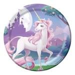 Beverage Plates- Unicorn Fantasy
