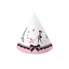 Hats-Cone-Party in Paris-8pkg-Paper