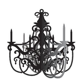 Hanging Decoration-Party in Paris Chandelier-16x16.5''