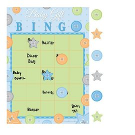 Bingo Game-Cute as a Button Boy-1pkg