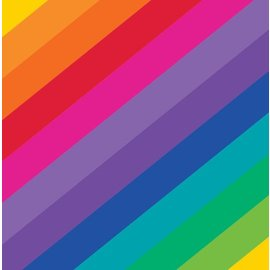 Napkins-LN-Rainbow-16pkg-2ply - Discontinued