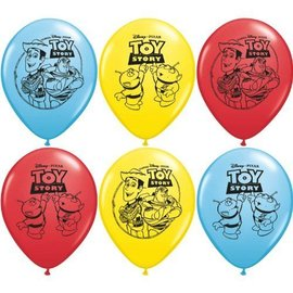 Balloons-Latex-Toy Story -6pk (Discontinued)