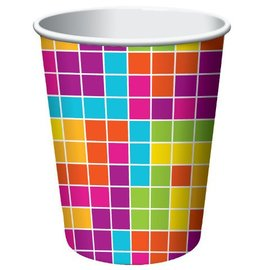 Paper Cups-Get Nerdy-8pkg-9oz - Discontinued
