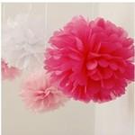 Paper Tissue Balls 3pc