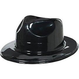 Fedora-Black-Plastic