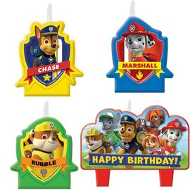 Candles-Paw Patrol-4pk