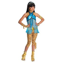 Costume-Monster High Cleo de Nile-Kids Medium