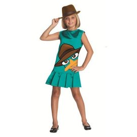 Costume-Agent Perry-Kids Medium