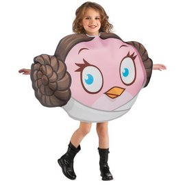 Costume-Princess Leia Angry Birds-Kids Standard
