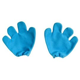 Costume Accessory-Blue Smurf Gloves-1pkg