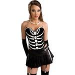 Costume Accessory-Bone Necklace-1pkg