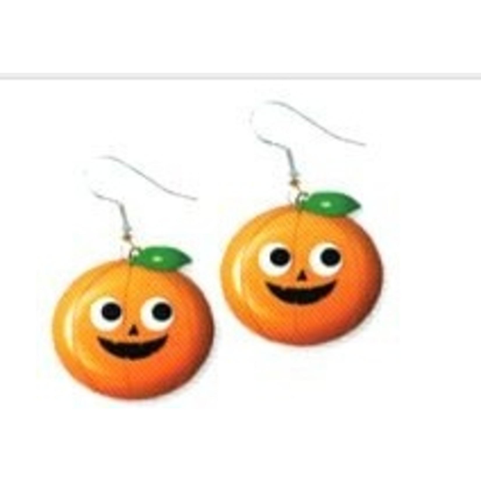 Accessorys-Pumpkin Earrings