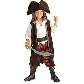 Costume-Caribbean Pirate-Kids Small