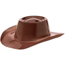 Cowboy Hat-Pl/Brown-Western