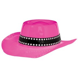 Cowboy Hat-Pink- Western