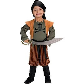 Costume-Pirate Captain-Toddler Size