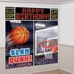 Wall Decor Kit-Basketball-6ft