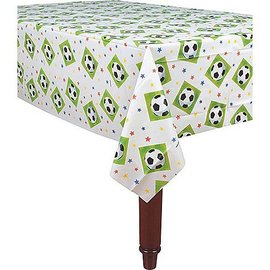 Table cover-Soccer-Plastic-54'' x 102''