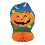 """Centerpiece Kit-Honeycomb-Halloween Pumpkins-4pkg-6"""""""