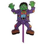 """Poseable Yard Sign-Frankenstein-1pkg-17.75""""x16.5"""""""