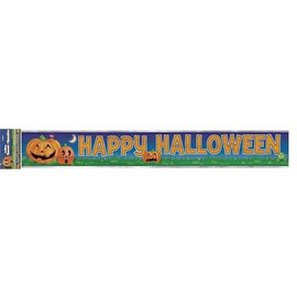 Banner-Foil-Happy Halloween-1pkg-12ft
