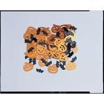 Confetti-Halloween Pumpkins and Bats-14g