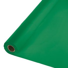 Table Roll-Emerald Green-100ft-Plastic