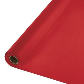 Table Roll-Classic Red-250ft-Plastic