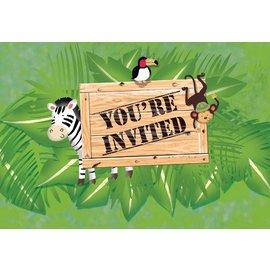 Invitations-Safari Adventure-8pkg