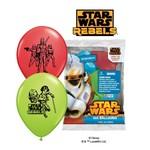 Balloons-Latex-Star Wars-6pk