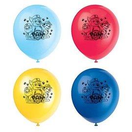 Balloons-Latex-Paw Patrol-8pk