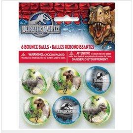 Bouce Balls- Jurassic World-6pk