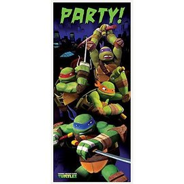 DoorWay Poster-Ninja Turtle-2.25fx5ft