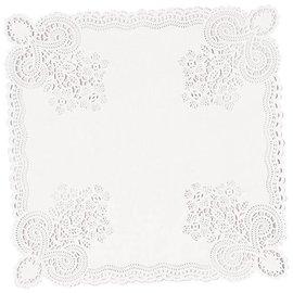 Doilies-Square-White-10.5''-20pk