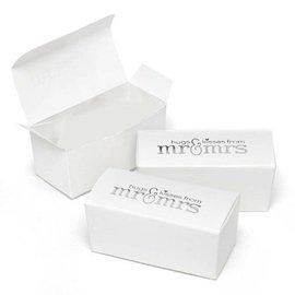 Favor Boxes- Mr & Mrs- 25pk