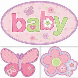 Cutouts-Carter's Baby Girl-3pk
