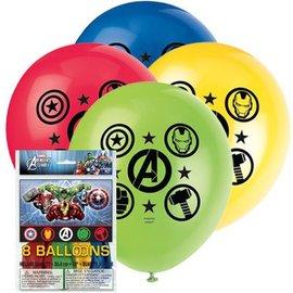 Balloons-Latex-Avengers-8pk