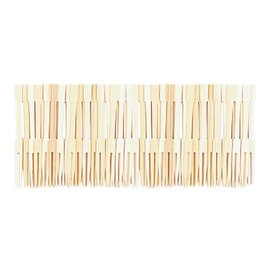 Cocktail Forks- Bamboo- 70pk/3.5""