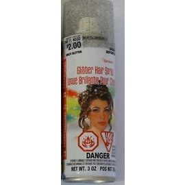 Multi Glitter Hair Spray-1pkg-3oz