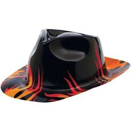 Hat - Fedora-Classic 50's-Flame-Plastic