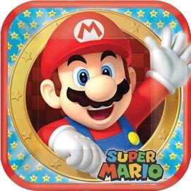 Plates-LN-Super Mario-8pk-Paper