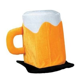 Hat-Plush Beer Mug-1pkg