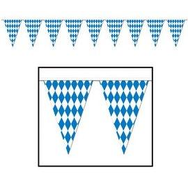 Pennant Banner-Plastic-Oktoberfest-1pkg-30ft