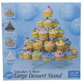 """Large Dessert Stand for 38 Cupcakes-5 Levels-1pkg-18"""""""