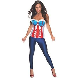 Costume-American Dream Corset-Adult Medium