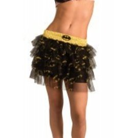 Costume Accessory-Bat Girl Sequin Skirt-Adult Standard