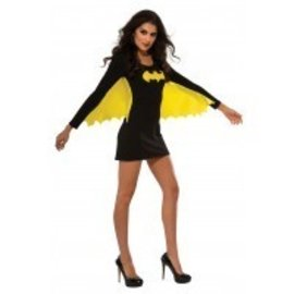 Costume-Batgirl Shirt with Cape-Adult Small