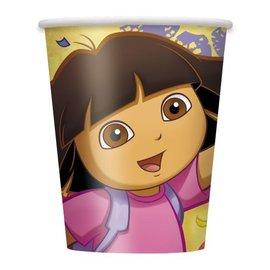 Cups -Dora the Explorer-Paper-9oz-8pk- Discontinued